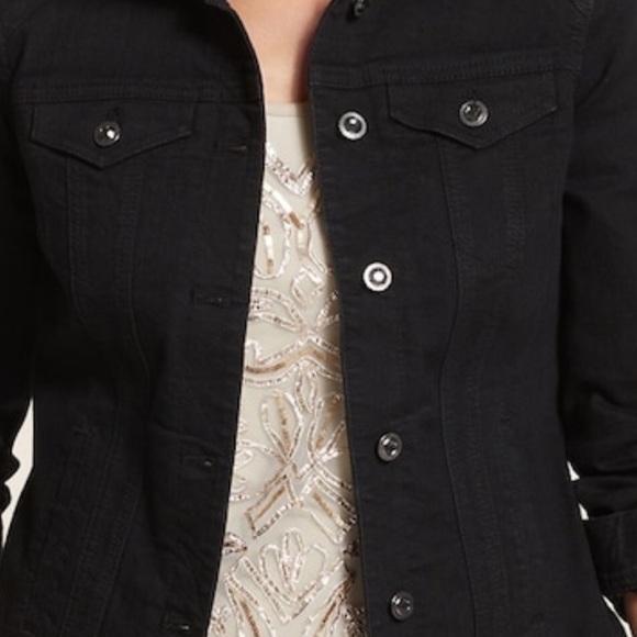 Chico's Jackets & Blazers - Black jean jacket by Chico's
